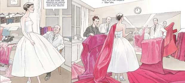 La ragazza indossava Dior