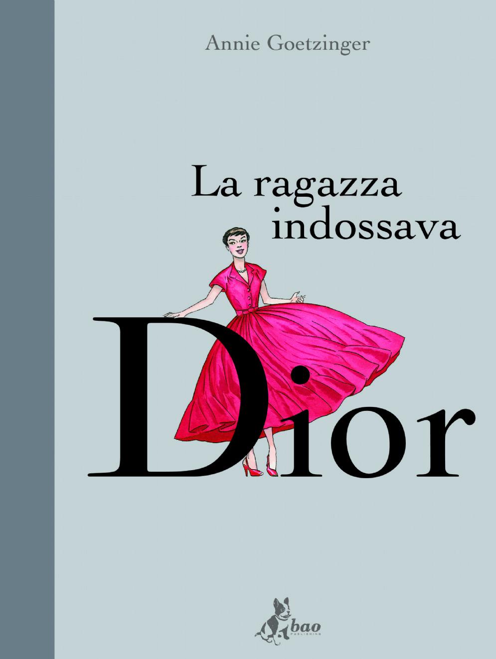 La ragazza indossava Dior, copertina