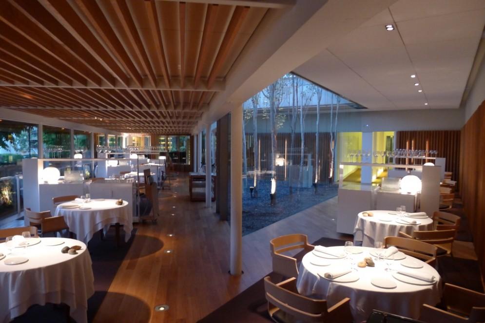 La sala del ristorante El Celler de Can Roca