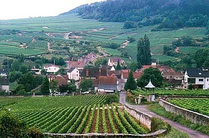 Il villaggio di Meursault