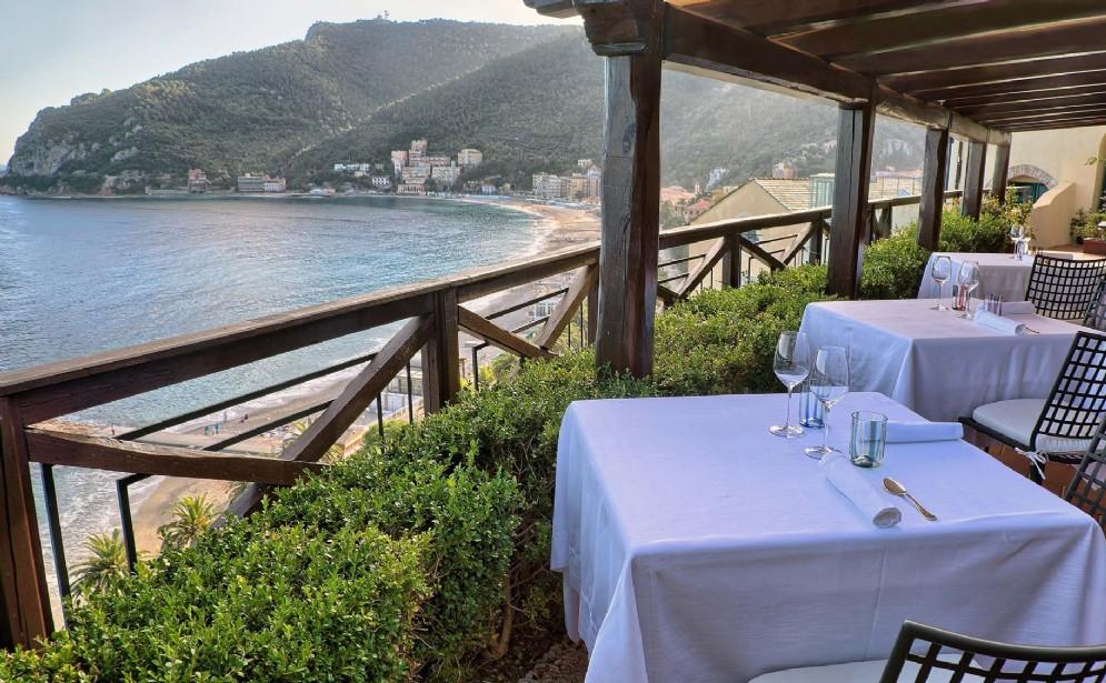 Dalla terrazza del ristorante