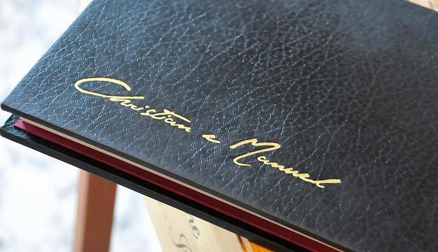 Il menù firmato