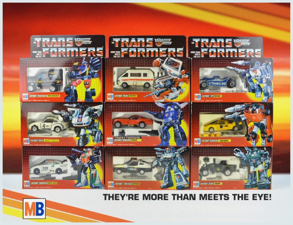 I Transformers...