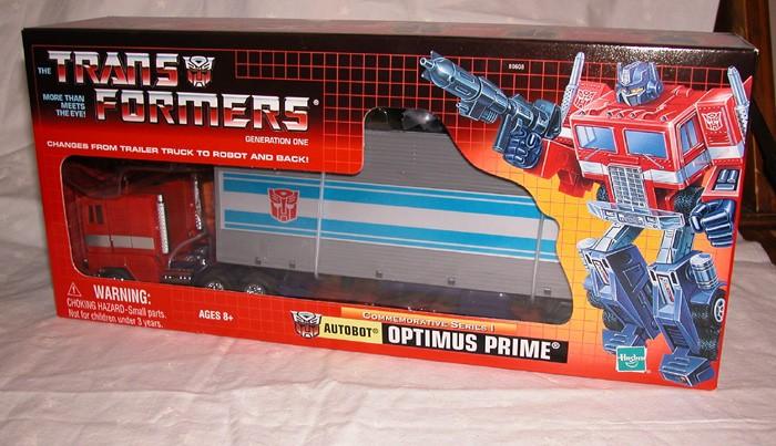 ...e il più ambito di tutti: Optimus Prime con rimorchio