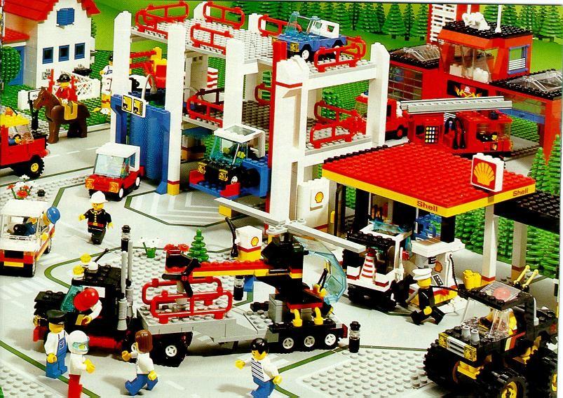 I veicoli della linea Lego City