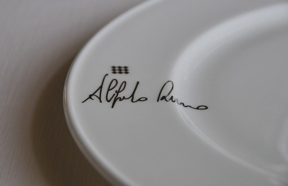 I piatti firmati