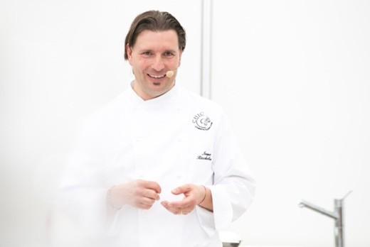 Ivano Richebono del ristorante The Cook di Arenzano (GE)