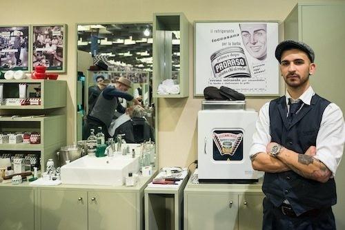 Proraso Temporary Barber Shop