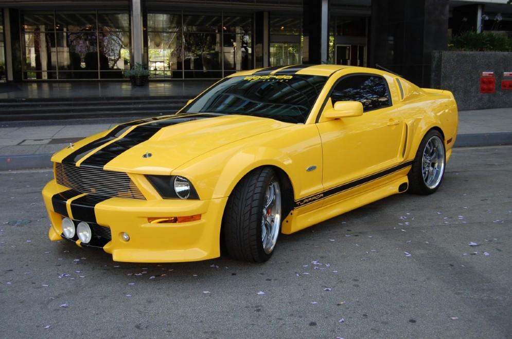 GT 550R Tjaarda - realizzata in soli tre esemplari per il film Fast and Furious - Solo parti originali (2009)