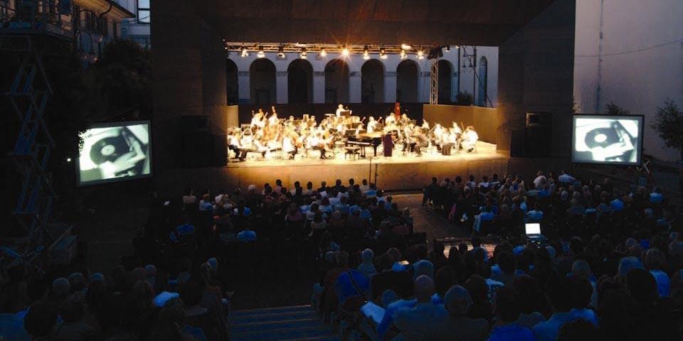 La platea del MittelFest di Cividale in una delle edizioni precedenti