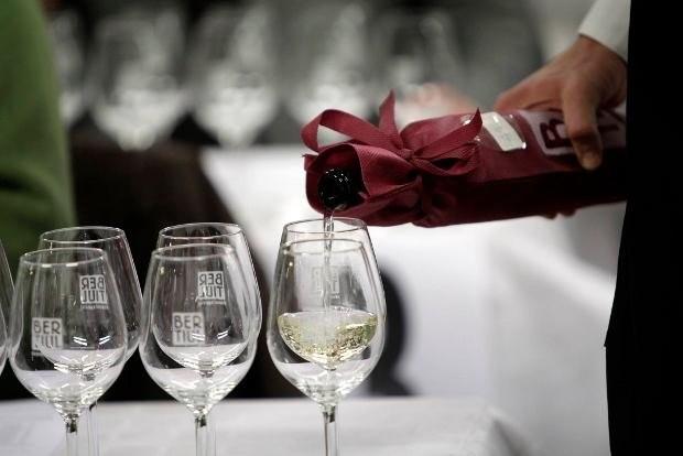 Degustazione di vini bianchi dell'edizione 2014