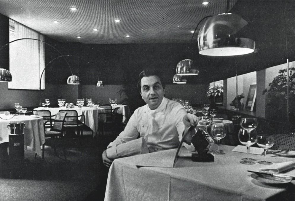 Nel 1977 Marchesi apre il suo ristorante in Via Bonvesin della Riva, a Milano