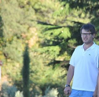Riccardo Campinoti, proprietario dell'azienda agricola e agriturismo Le Ragnaie