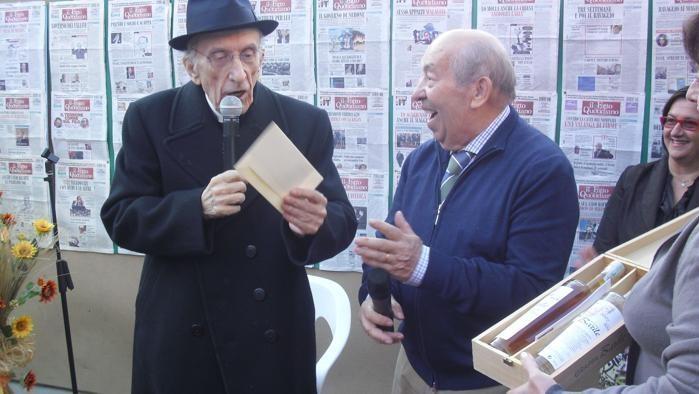 Don Gallo e Luigi Barile