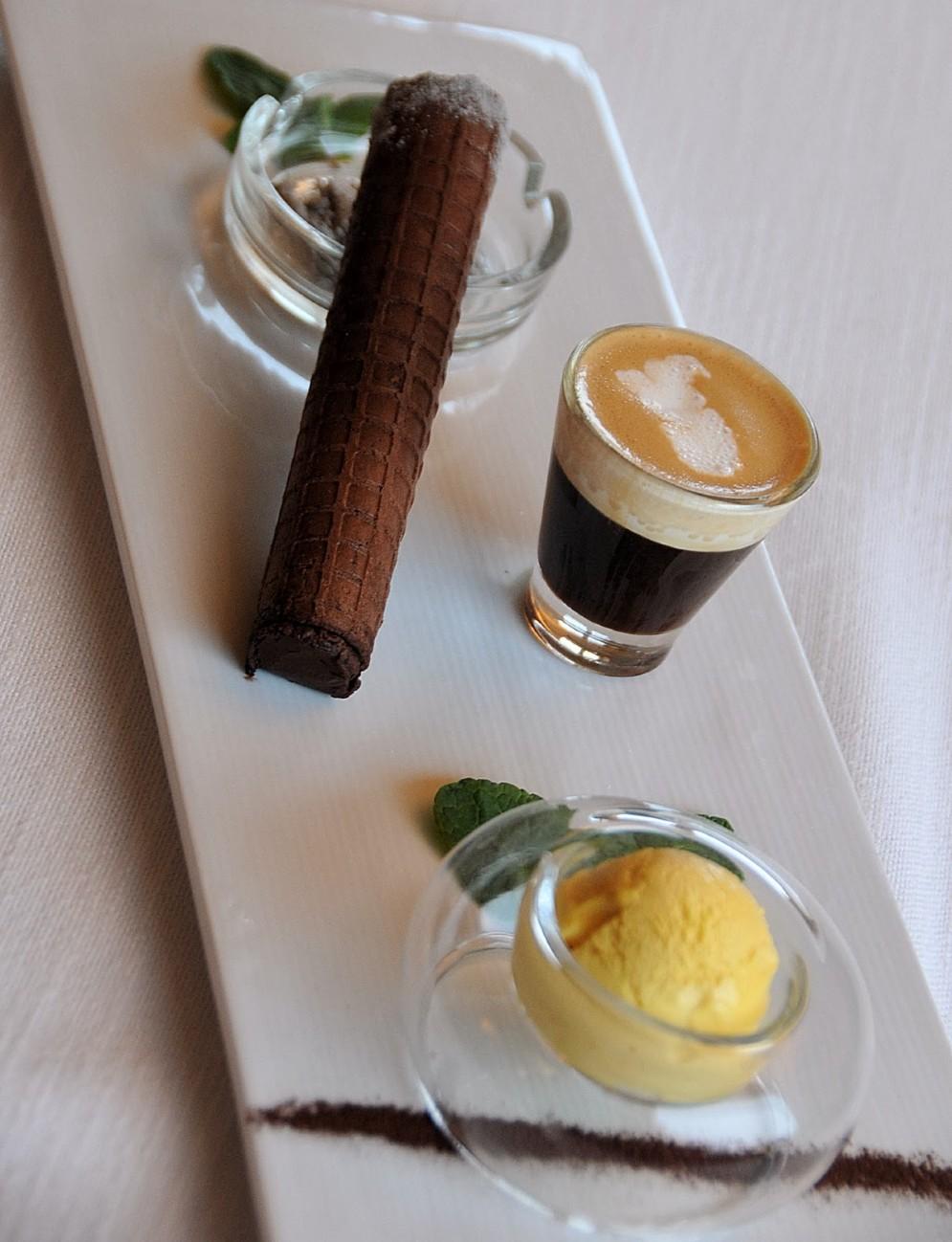 Vizi e capricci ; un dessert che è anche una dichiarazione di intenti