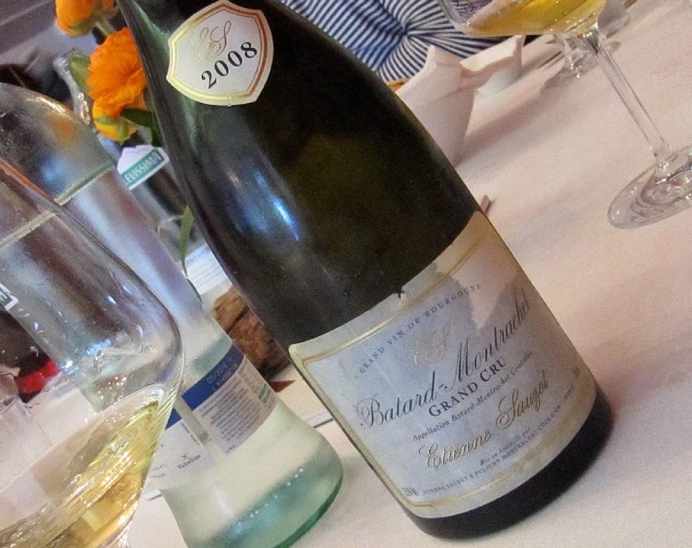 L'ottimo Batard 2008 di Etienne Sauzet, uno dei proprietari più affidabili di Puligny
