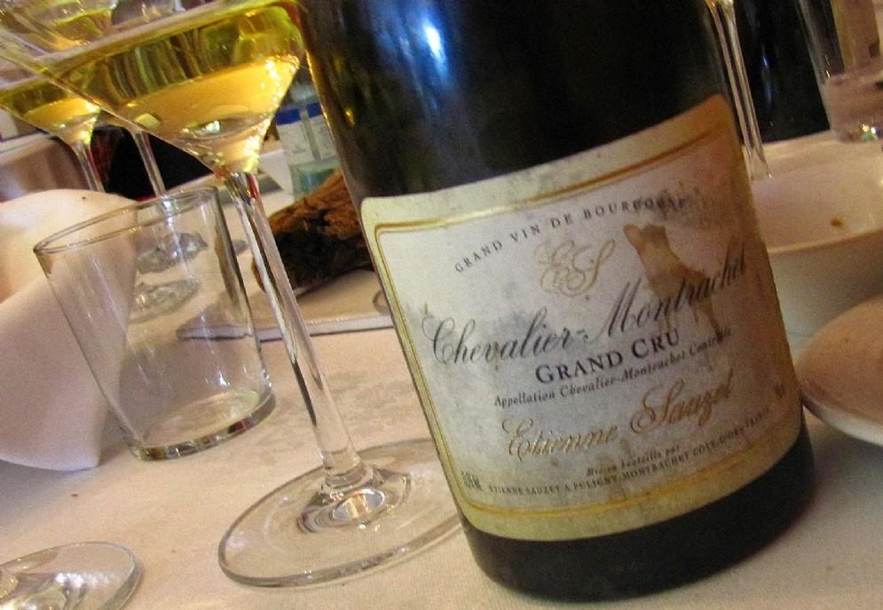La finezza estrema di un Chevalier Montrachet, ancora grazie a Sauzet