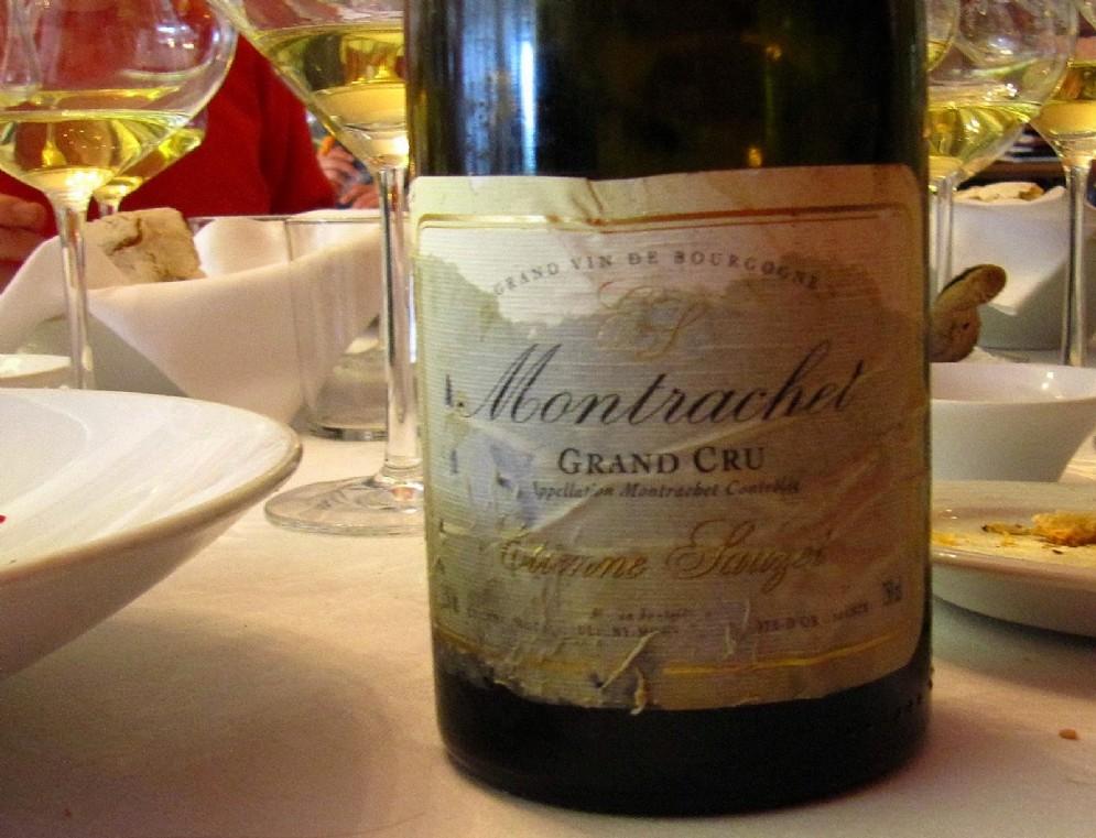 Le Montrachet, senza se e senza ma, la complessità che riassume il concetto di grande vino da uve chardonnay