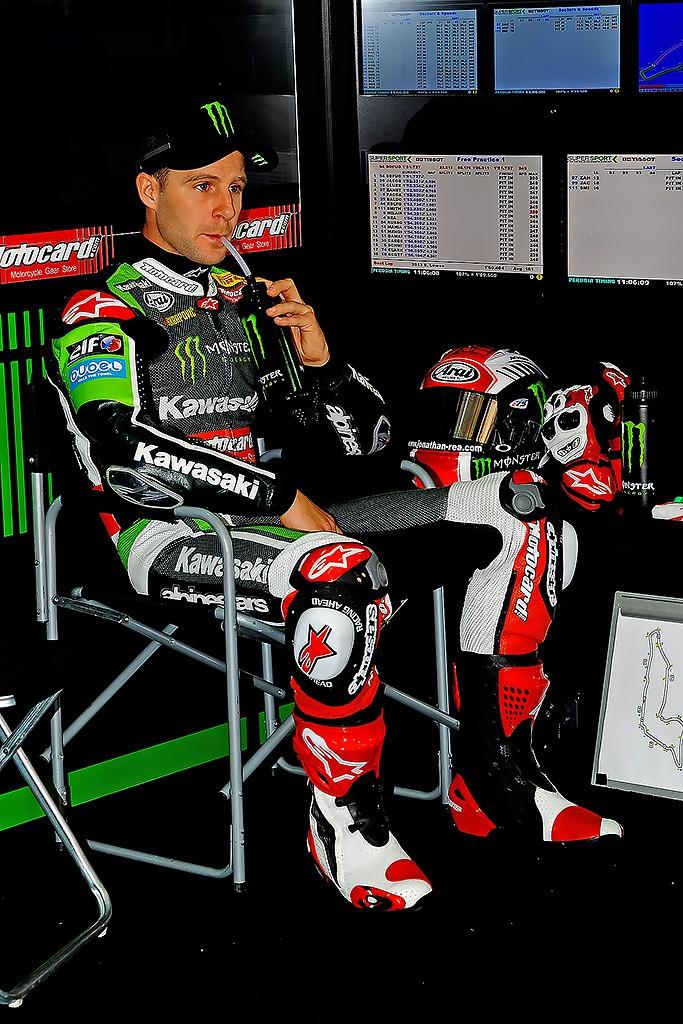 Il leader del Mondiale Superbike Jonathan Rea (Foto: Micaela Naldi per DiariodelWeb.it)