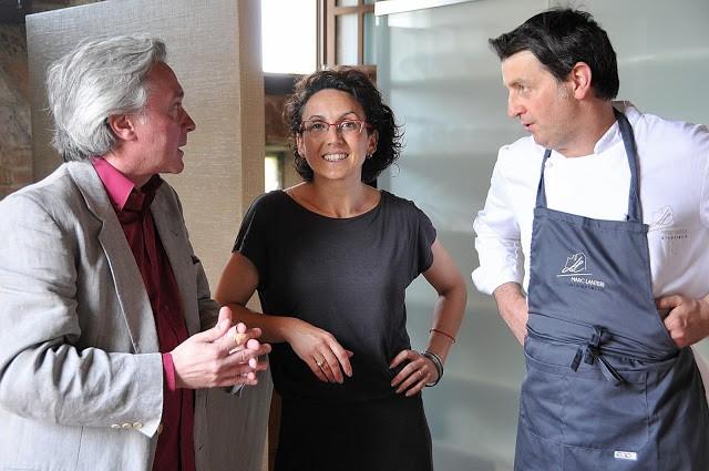 Con Amy Bellotti e Marc Lanteri
