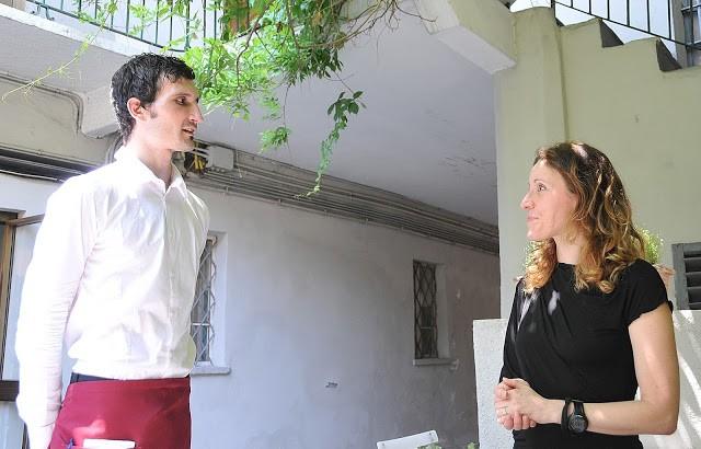 Ivan e Cristina si occupano del servizio