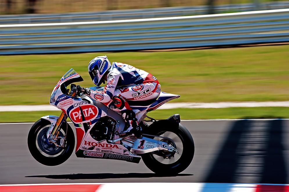 Sylvain Guintoli, Honda (Foto: Andrea Bonora per DiariodelWeb.it)