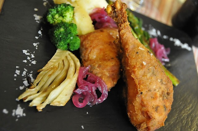 Il pollo Tonchese fritto