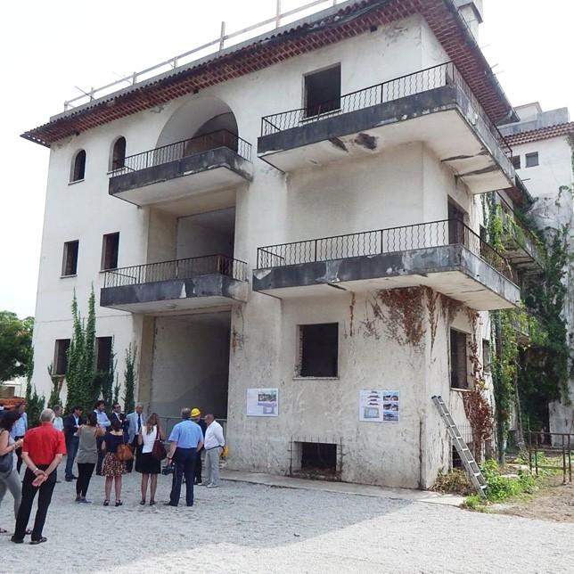 L'edificio che sarà demolito