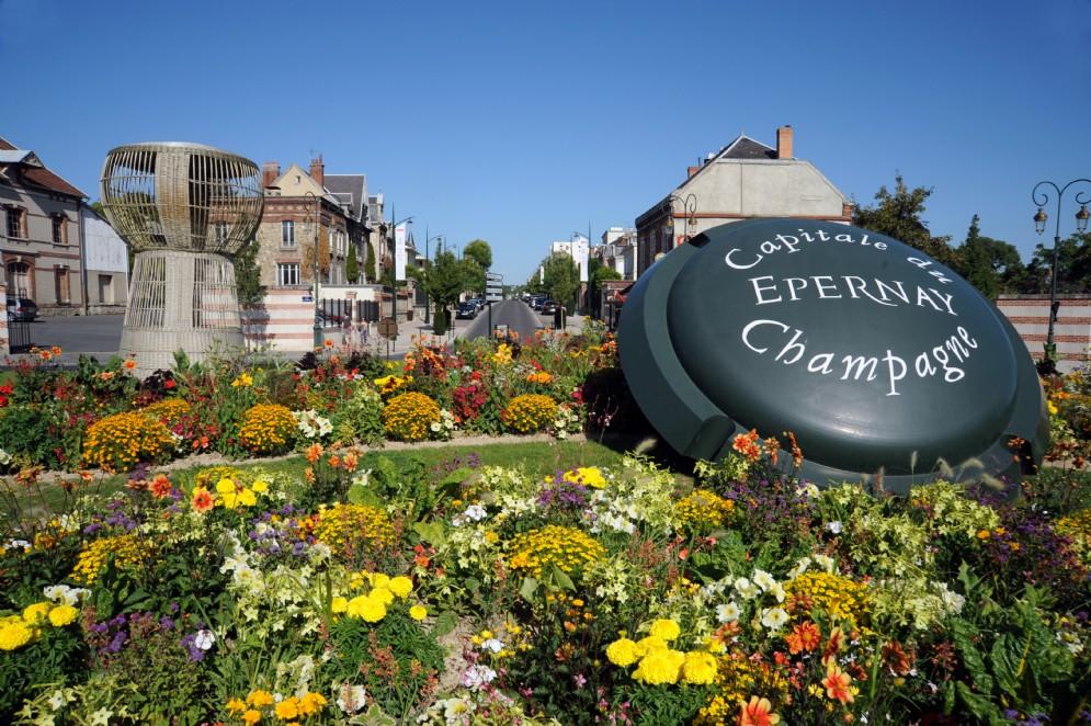 Epernay condivide con Reims il titolo di capitale dei vini de La Champagne