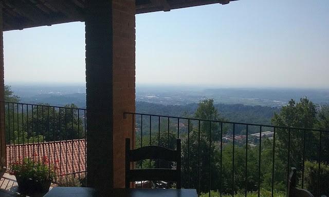 L'estesa vista sul Biellese