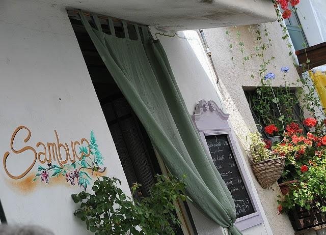 L'ingresso del Sambuco