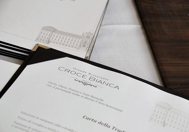La carta del ristorante