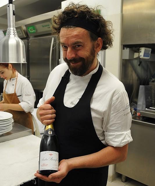 Giorgio Servetto esibisce un altro Champagne Millesimato di Beaufort