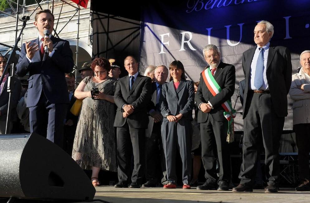 Ancora un'immagine dell'inaugurazione
