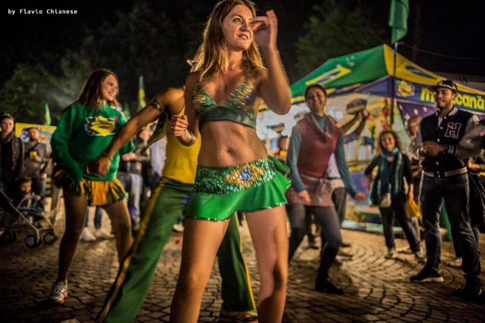 ... e bellezze brasiliane