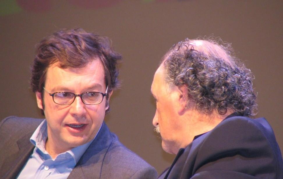 I curatori della Guida : Fabio Rizzari ed Ernesto Gentili