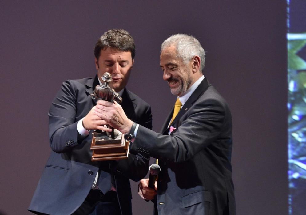 Renzi in visita alla Danieli di Buttrio