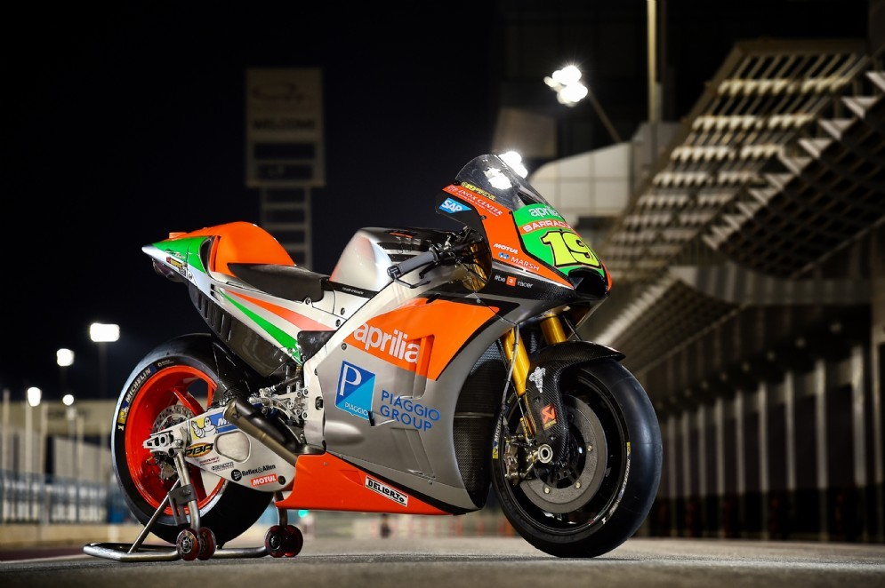 La moto svelata sul circuito di Losail