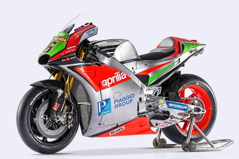 La nuova Aprilia RS-GP