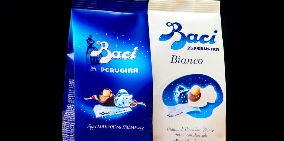 """Il """"Bacio"""" Perugina punta a conquistare i mercati internazionali."""