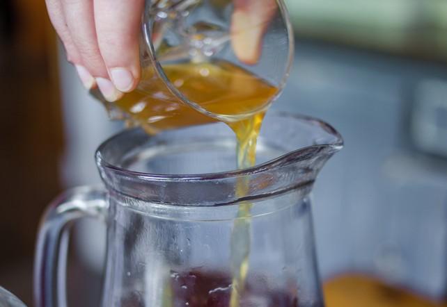 Terzo step: lo starter - Aggiungi un tè precedente e usalo come starter