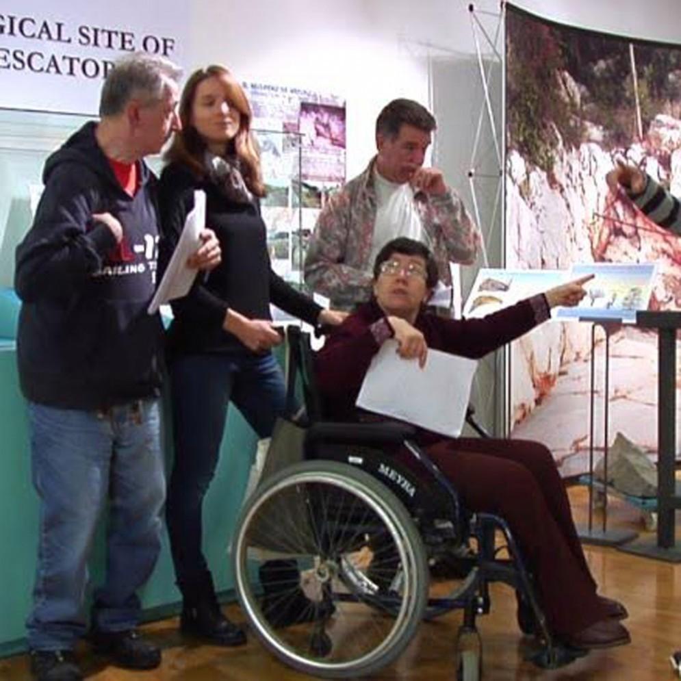 I disabili di Trieste Integrazione alla presentazione del progetto Museo Accessibile
