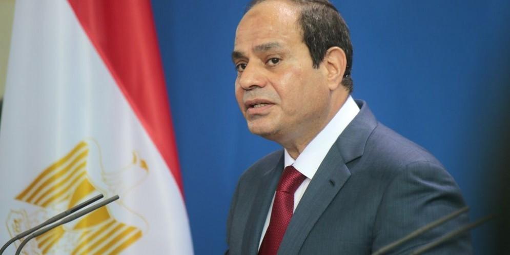 Il presidente egiziano Abdel Fattah al-Sisi.