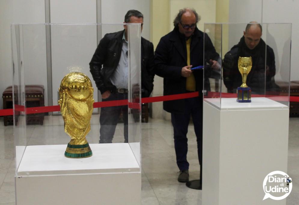 Le Coppe del Mondo esposte a Udine