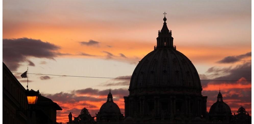 La cupola di San Pietro, Roma.