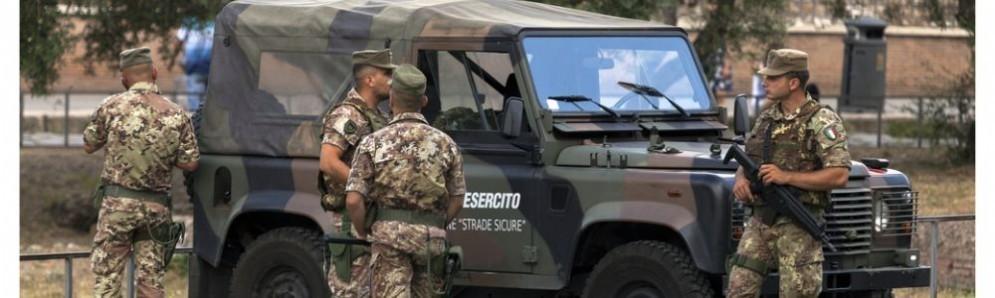 Allarme sicurezza è ai «massimi livelli storici» a Roma per Pasqua