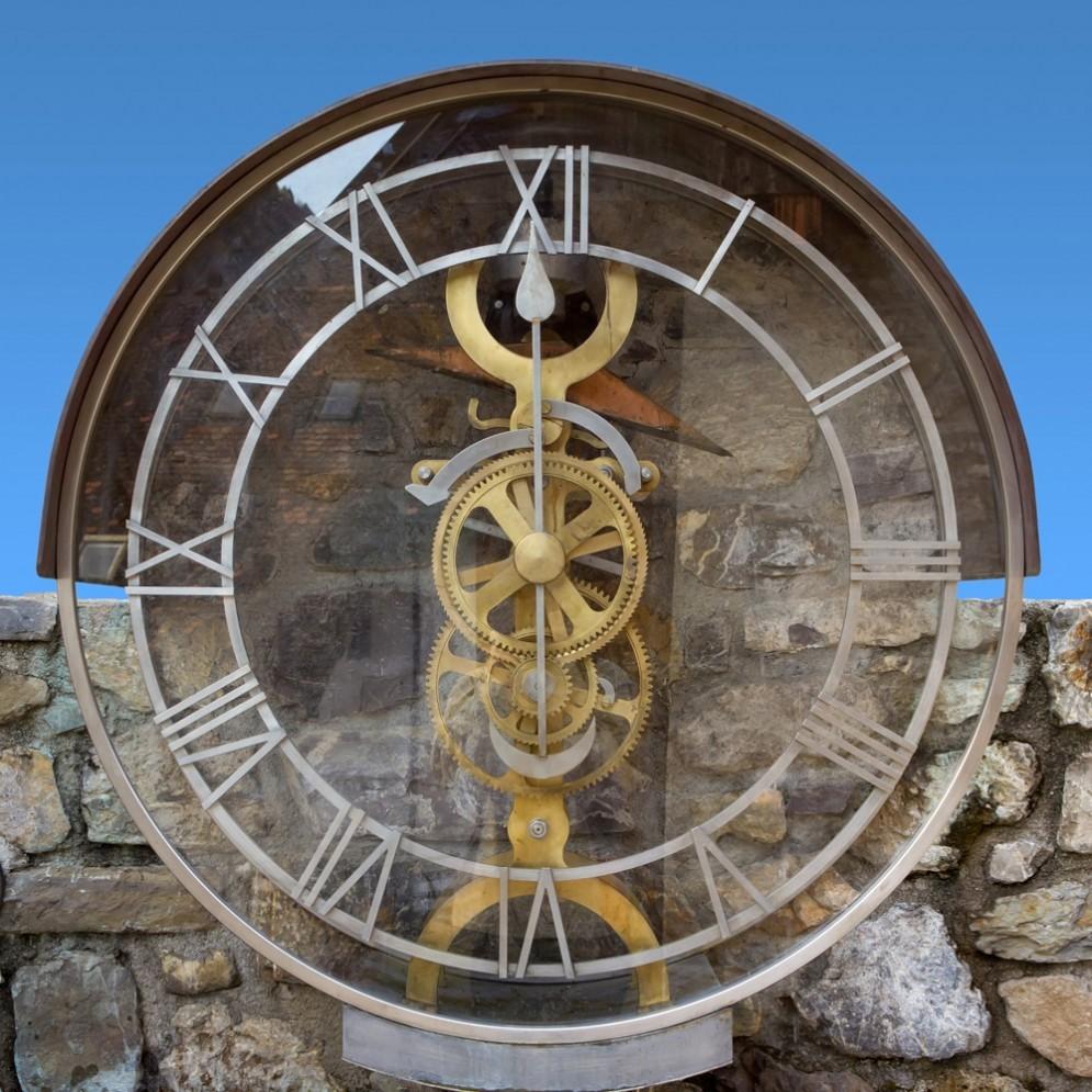 Uno degli orologi di Pesariis