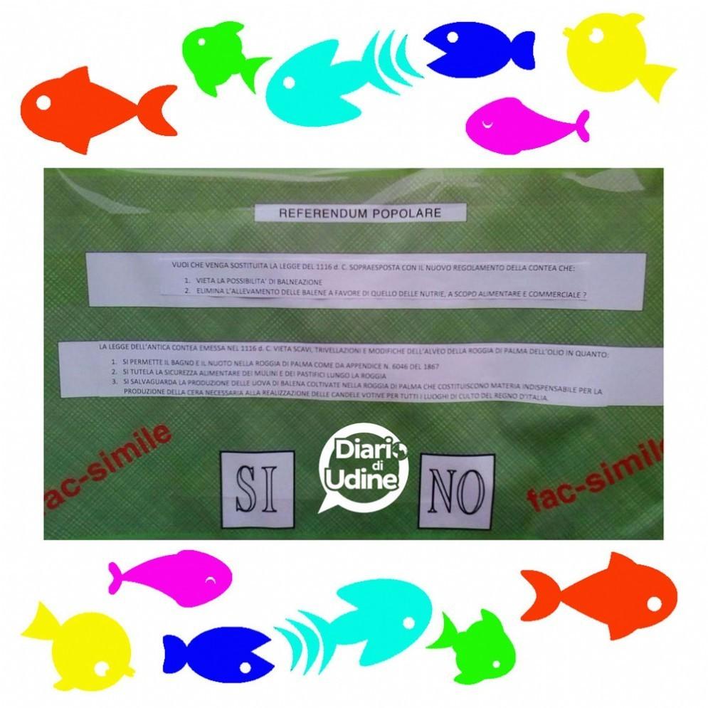 Nuovo Pesce d'aprile a Cussignacco