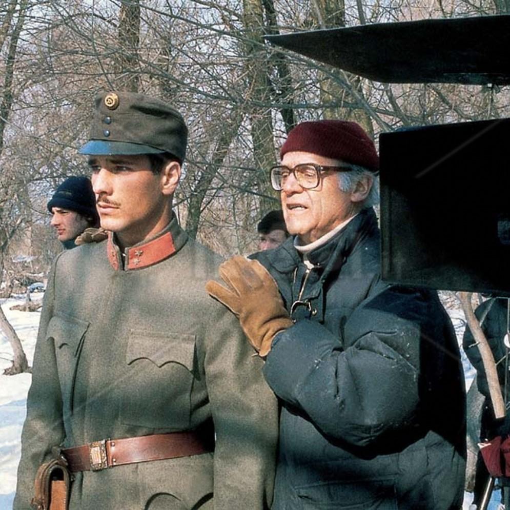 Raoul Bova durante le riprese