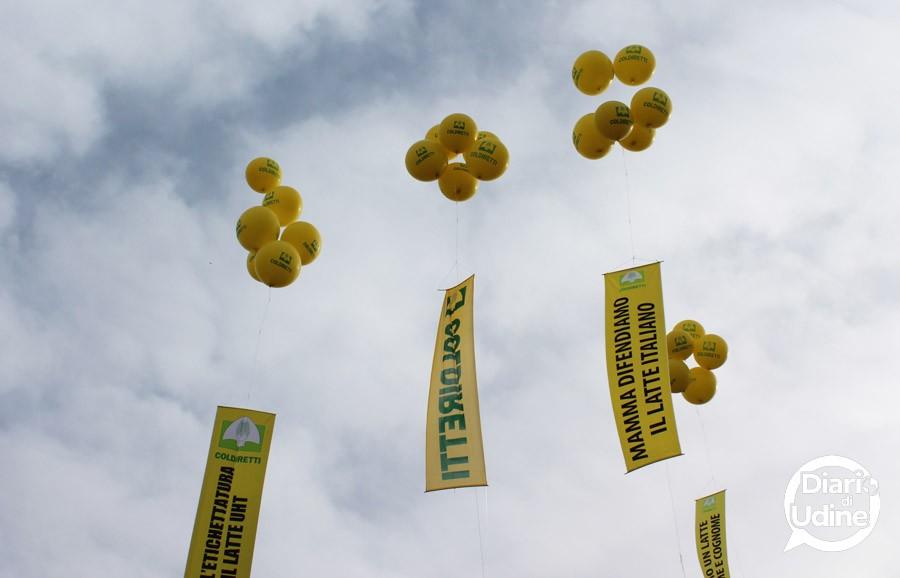 La manifestazione di Coldiretti a Udine